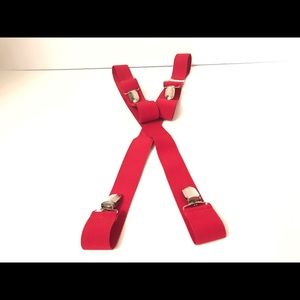 Other - New Red Suspenders